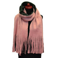 Big scarf - pink and black