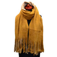 Big scarf - brown and beige