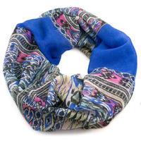 Infinity scarf - blue
