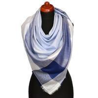 Big square scarf - blue