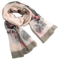 Classic women's scarf - beige
