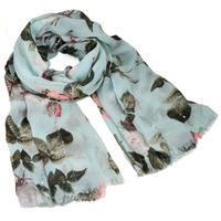 Classic women's scarf - menthol