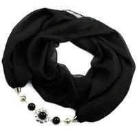 Scarf Extravagant - black