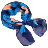 Jewelry scarf Melody - blue