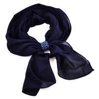 Jewelry scarf Melody - dark blue