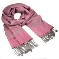 Classic cashmere scarf - pink