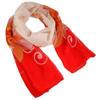 Classic women's scarf - violet
