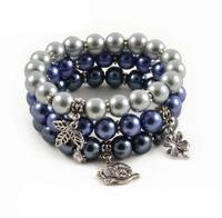 Bracelet set - Blue Wave