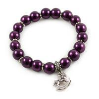 Bracelet - dark violet