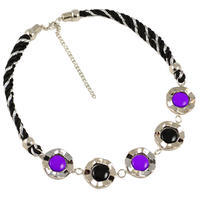Necklace - violet