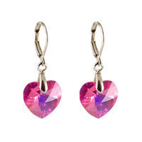 Xilion Light Rose earrings made with SWAROVSKI ELEMENTS