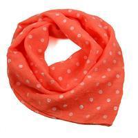 Cotton neckerchief 63sk003b-11.01 - orange