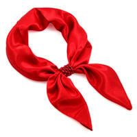 Jewelry scarf Stewardess Light - red
