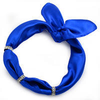 Bijoux Neckerchief Stewardess - blue with polka dot