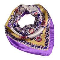 Small neckerchief 63sk004-35.01 - light violet