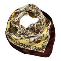 Small neckerchief 63sk004-40.01 - brown