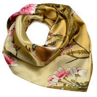 Small neckerchief 63sk004-01.20 - white and beige