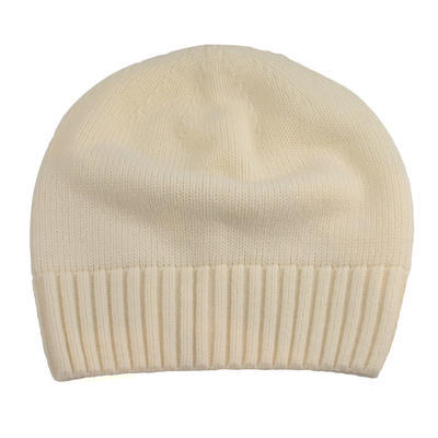 Knitted hat - white