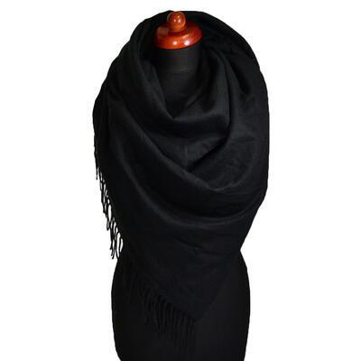 Blanket square scarf - black - 1