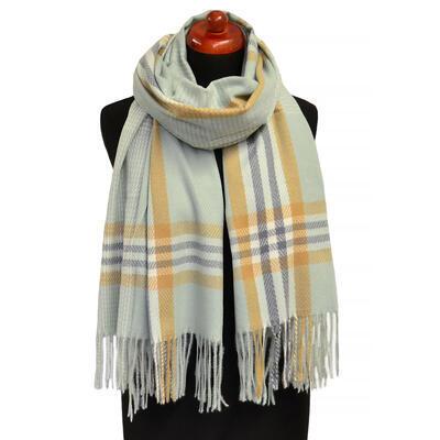 Blanket scarf - light green - 1