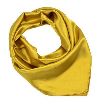 Small neckerchief - golden brown