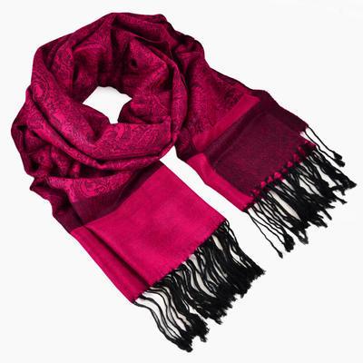 Classic cashmere scarf - light violet