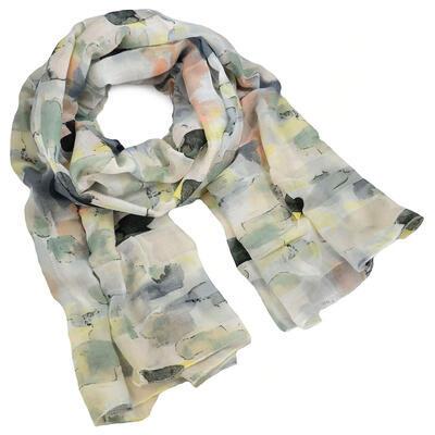 Classic women's scarf - grey - 1