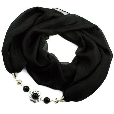 Scarf Extravagant - black - 1