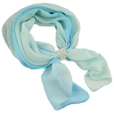 Bijoux Neckerchief Stewardess - blue with polka dot - 1