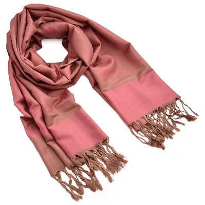 Classic cashmere scarf - green