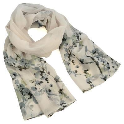 Classic women's scarf - violet - 1