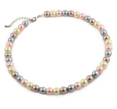 Necklace - Cream tones - 1