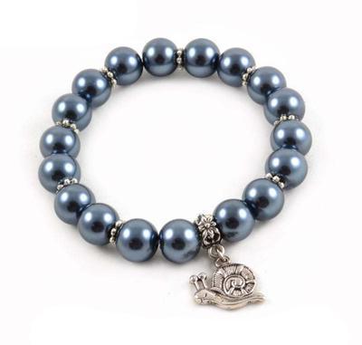 Bracelet - hematite grey