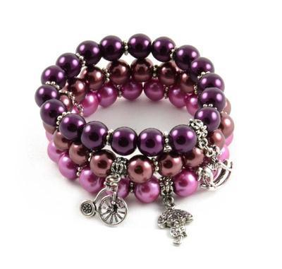 Bracelet set - Sweet Blueberry