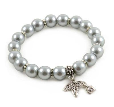 Bracelet - silver grey