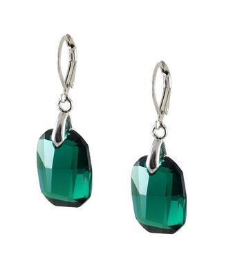 De-Art Aqua earrings made with SWAROVSKI ELEMENTS