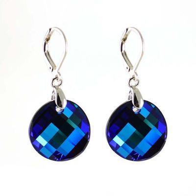De-Art Hematite earrings made with SWAROVSKI ELEMENTS
