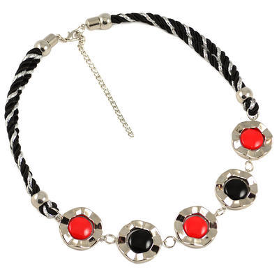 Necklace - red - 1