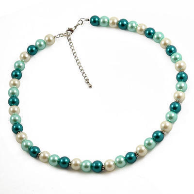 Necklace - Blue Wave - 1