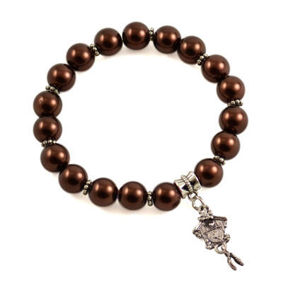 Bracelet - chocolate brown
