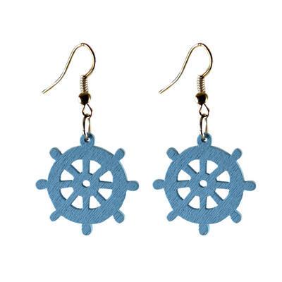 Alice earrings - light blue