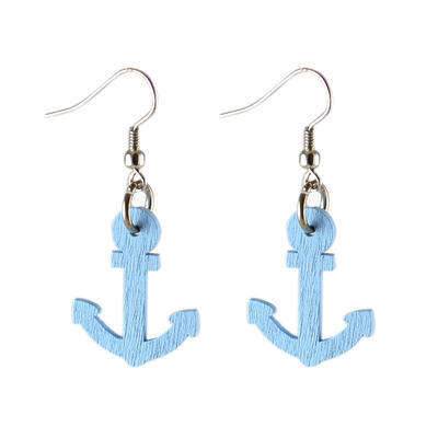 Alice earrings - light blue