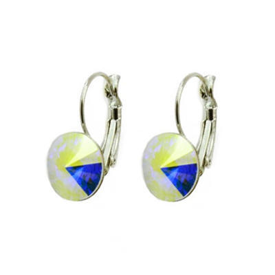 Rivoli Peridot earrings made with SWAROVSKI ELEMENTS