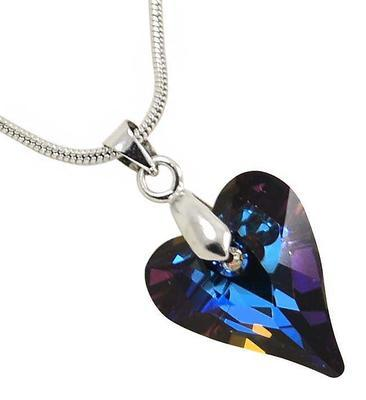 Wild Heart Antiqupink pendant made with SWAROVSKI ELEMENTS