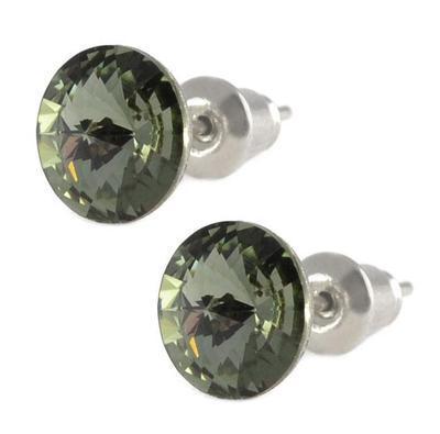 Rivoli Black Diamond Mini earrings made with SWAROVSKI ELEMENTS