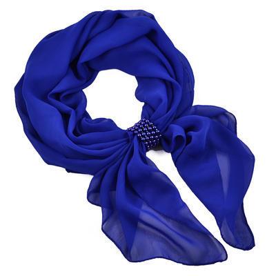 Jewelry scarf Melody - blue - 1