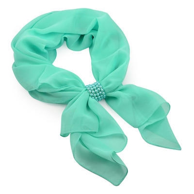 Jewelry scarf Melody - menthol - 1