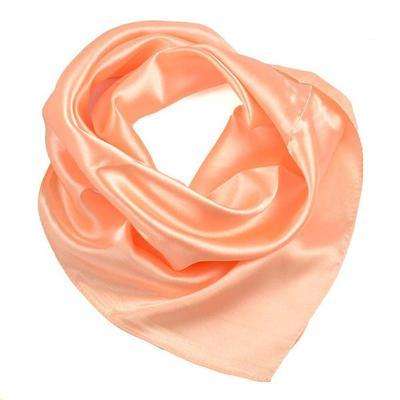 Small neckerchief 63sk001-11a - peach