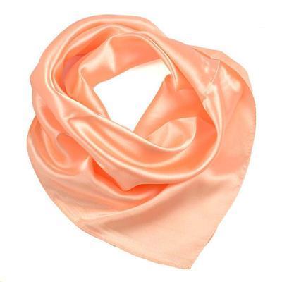 Small neckerchief 63sk001-11a - peach