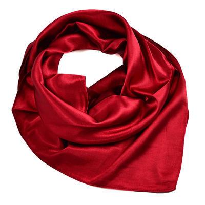 Small neckerchief 63sk001-22 - dark red